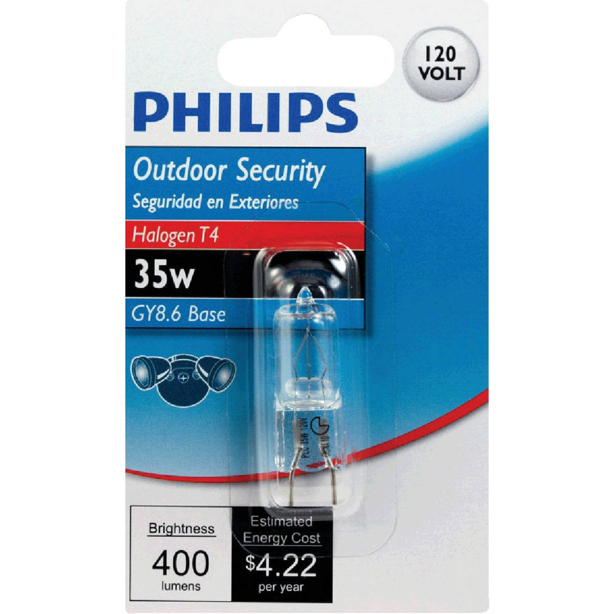 35W GY8.6 HALOGEN BULB - 04712 by Westinghouse Lightng
