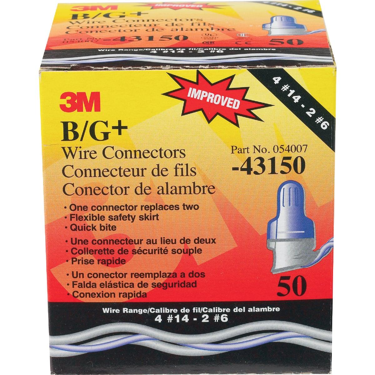 B/G WIRE CONNS 50 CT BOX
