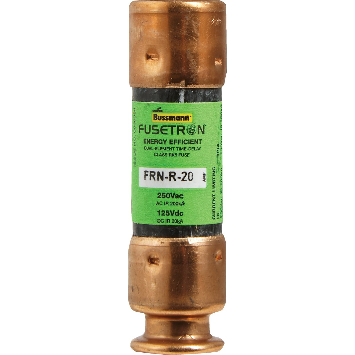 20A CARTRIDGE FUSE - FRN-R-20 by Bussmann Cooper