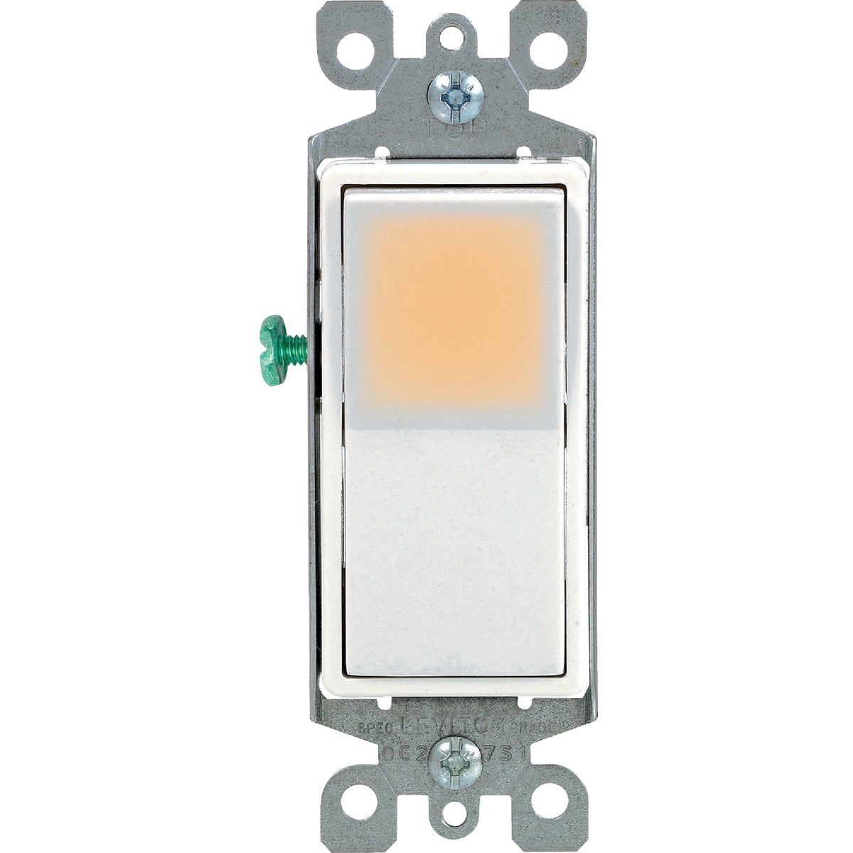 WHT 3-WAY GRND SWITCH - R72-5613-2WS by Leviton Mfg Co