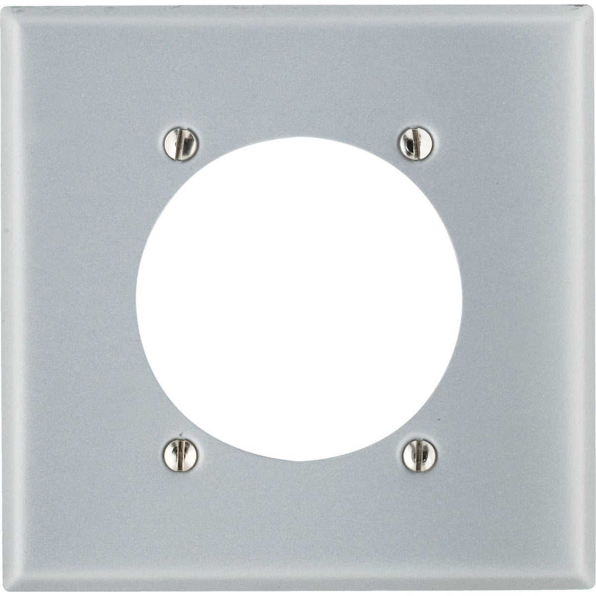 ALUM RANG/DRY WALL PLATE - 001-0S701-0GY by Leviton Mfg Co