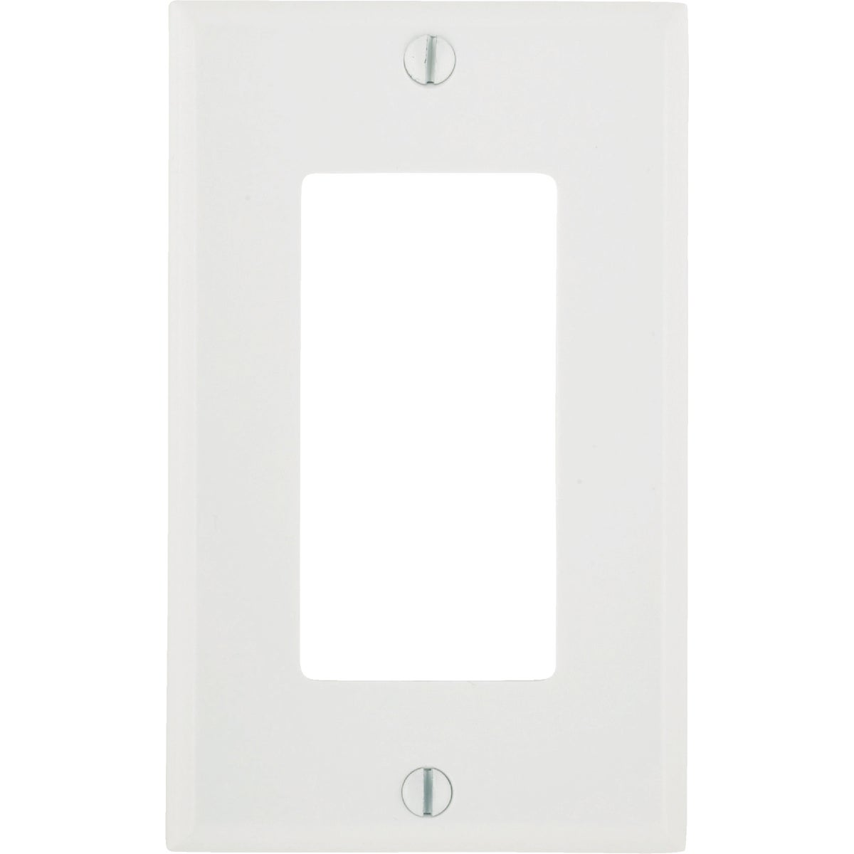 WHT WALL PLATE - 021-80401-00W by Leviton Mfg Co
