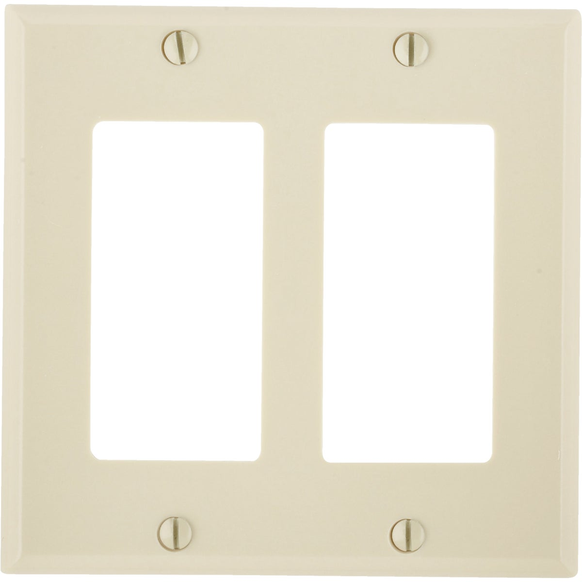 IV DBL ROCKER WALL PLATE - 80409I by Leviton Mfg Co