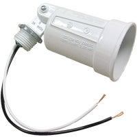 Hubbell WHT SINGLE LAMPHOLDER 5941-4
