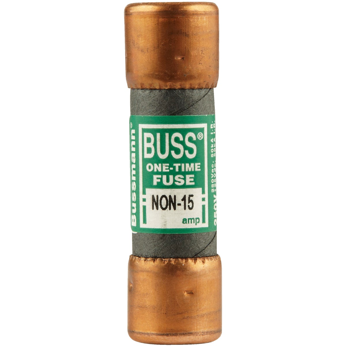 15A NON CARTRIDGE FUSE - NON-15 by Bussmann Cooper