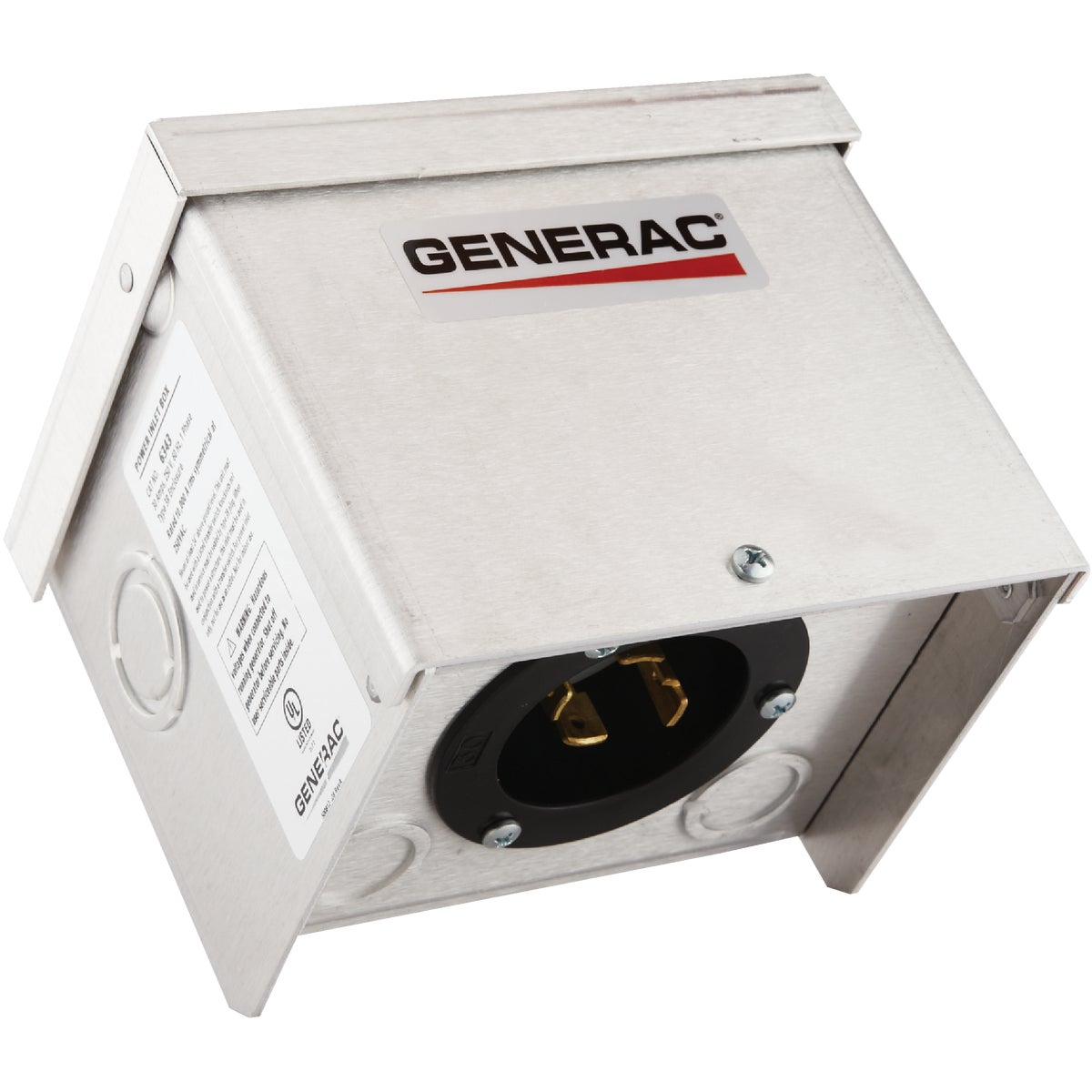30 A AL POWER INLET BOX - 6343 by Generac Power System