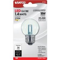 GE Lighting 2W CL G16 CAN LED BULB 76450 LED2G16C/C/TP