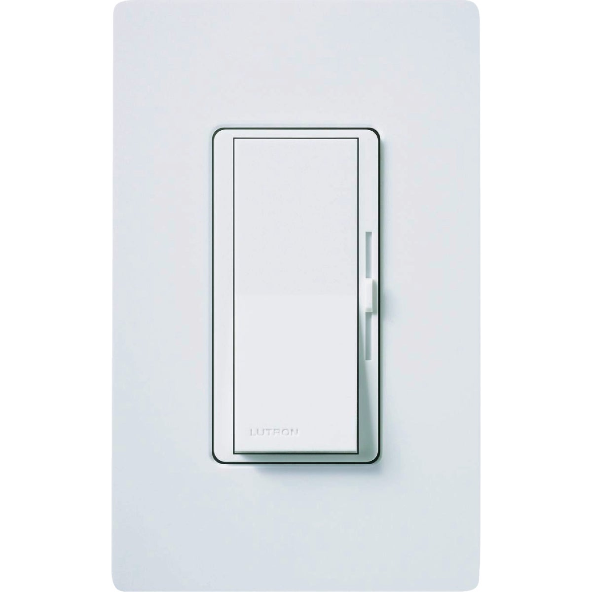 WHT CFL/LED DIMMER - DVWCL-153PH-WH by Lutron Elect Co Inc