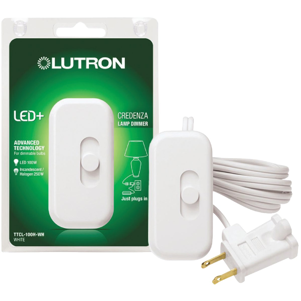 WHT CFL/LED DIMMER CORD