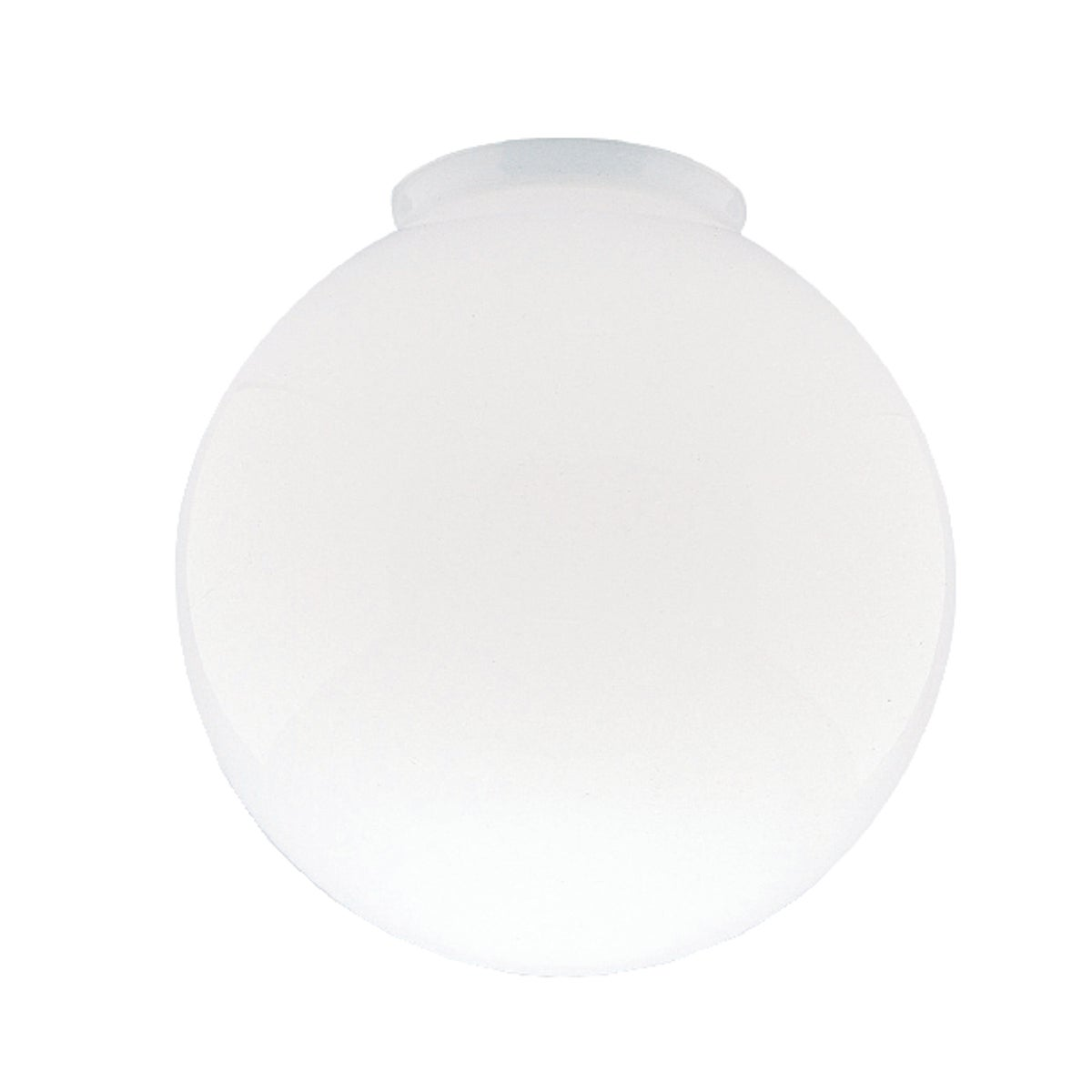 "6"" WHITE FIXTURE GLOBE - 85570 by Westinghouse Lightng"