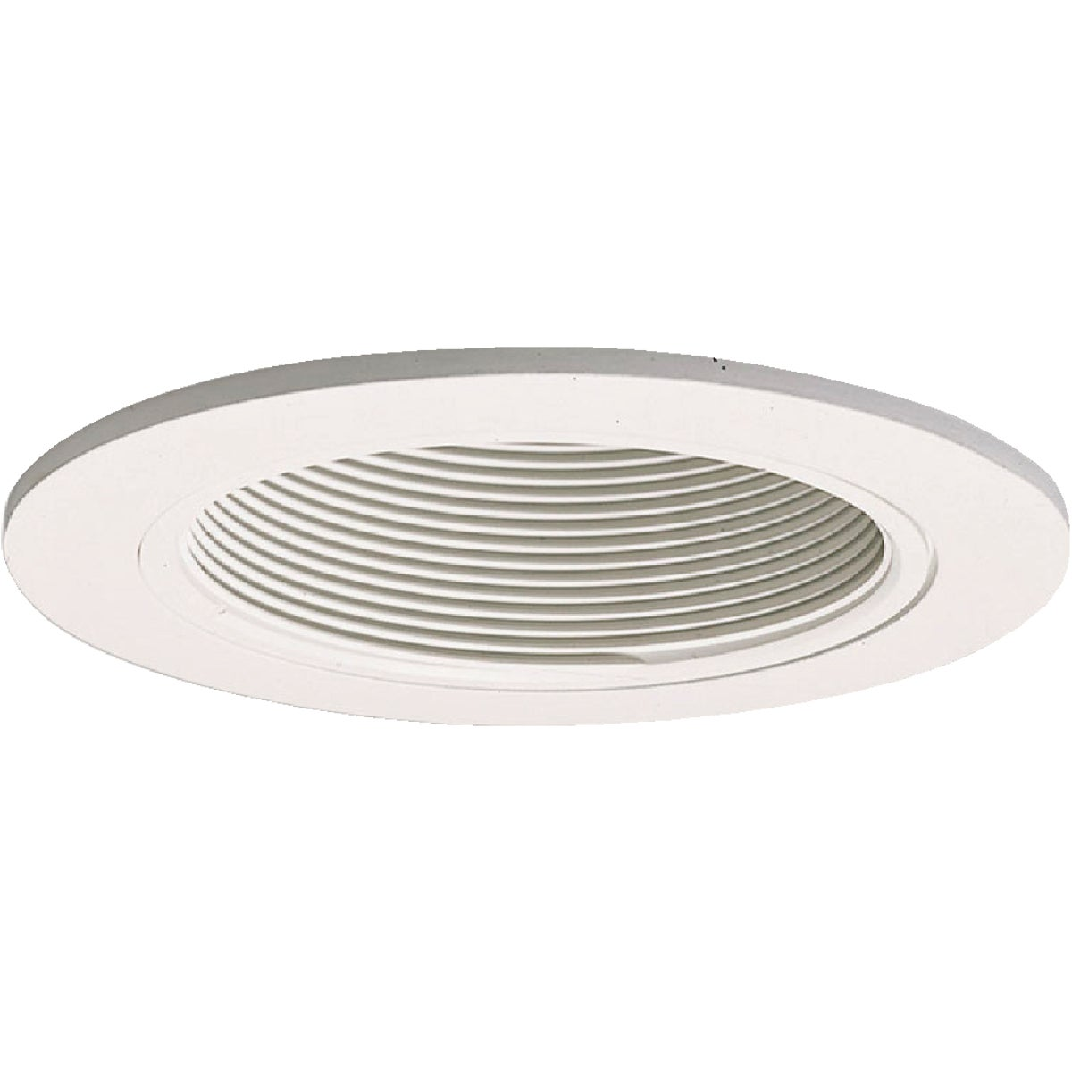 "4"" WHT/WHT TRIM BAFFLE - 993W by Cooper Lighting"