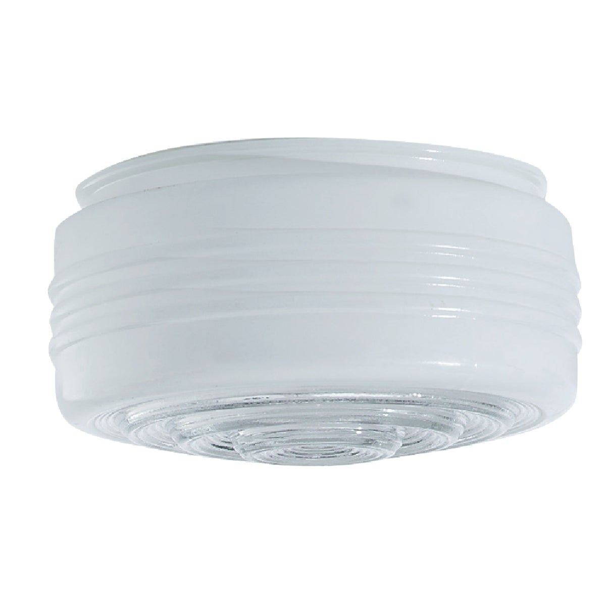 "6"" WHITE GLASS DRUM - 85606 by Westinghouse Lightng"