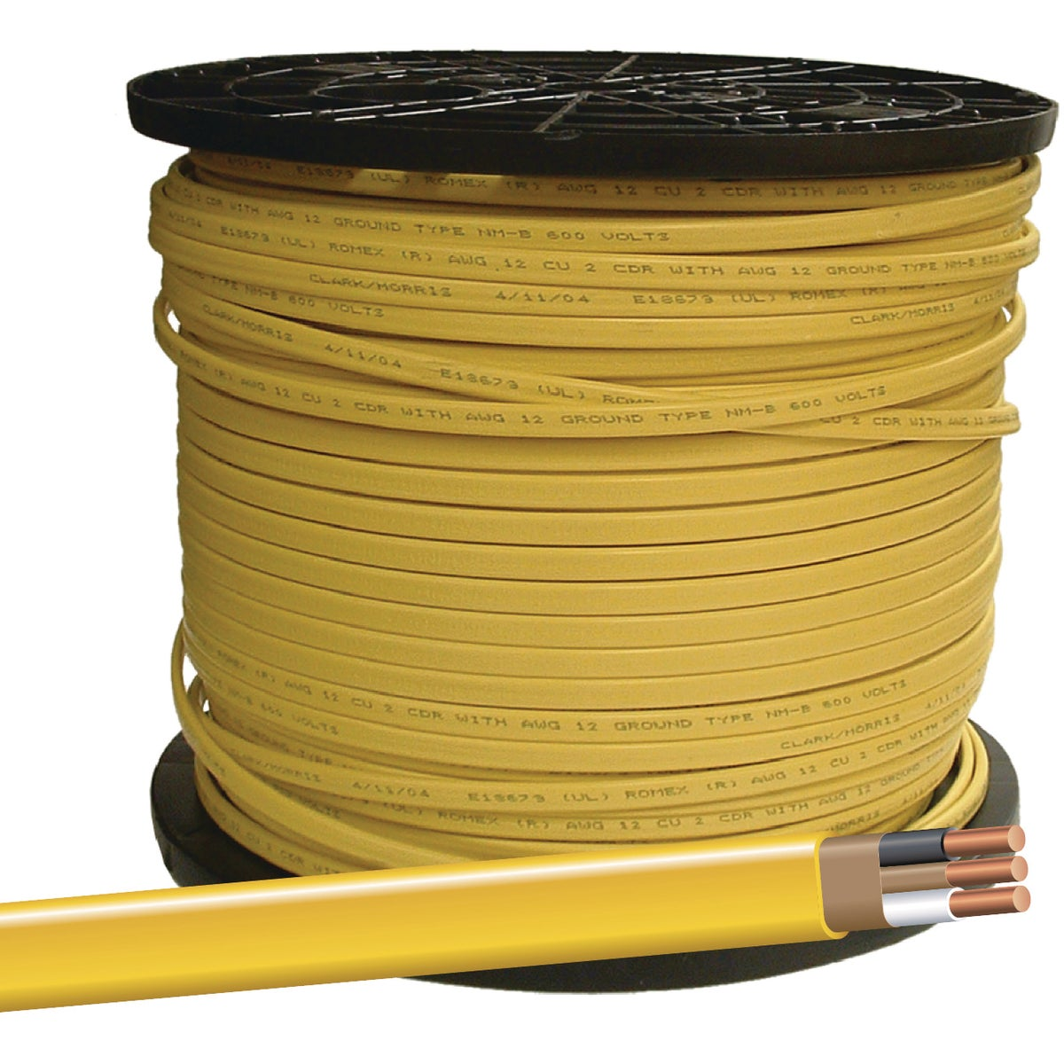 400' 12-2 NMW/G WIRE - 28828272 by Southwire Company