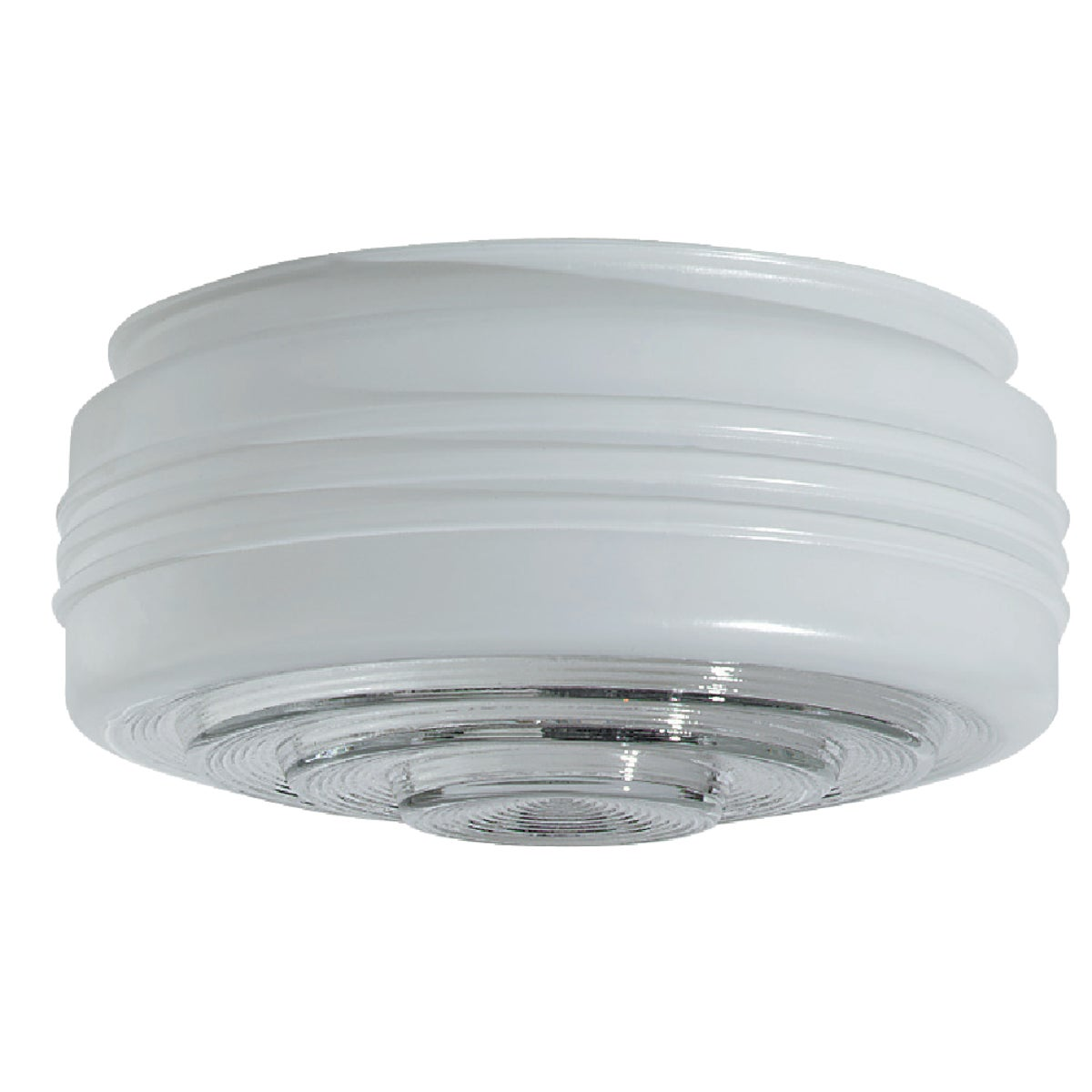 "8"" WHITE GLASS DRUM - 85608 by Westinghouse Lightng"
