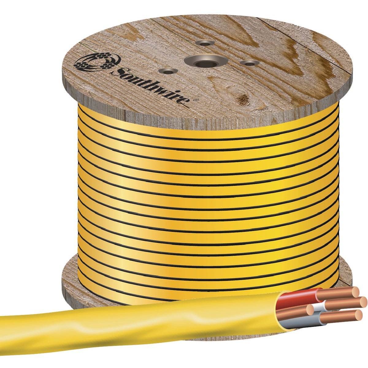 250' 12-3 NMW/G WIRE - 63947672 by Southwire Company