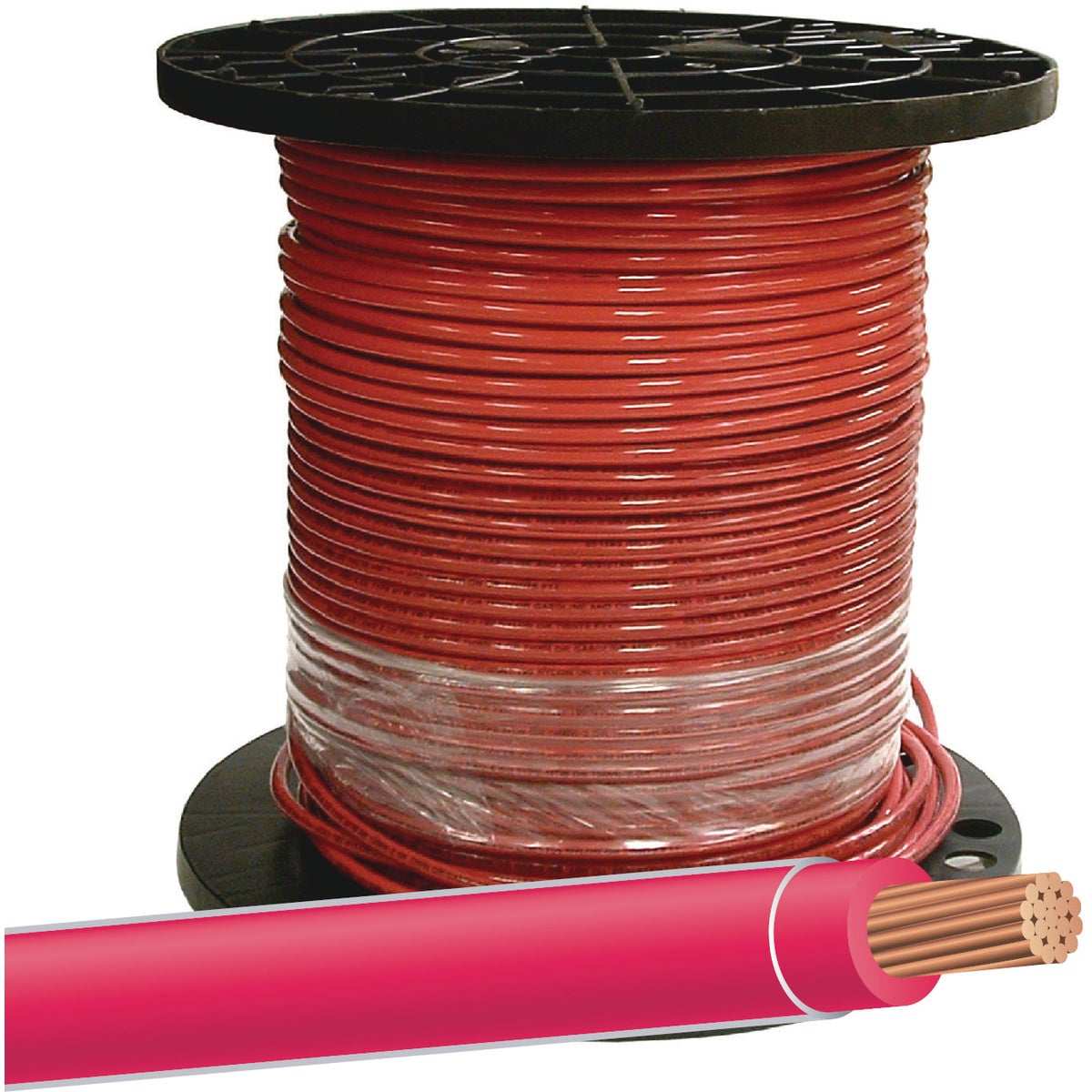 500' 8STR RED THHN WIRE