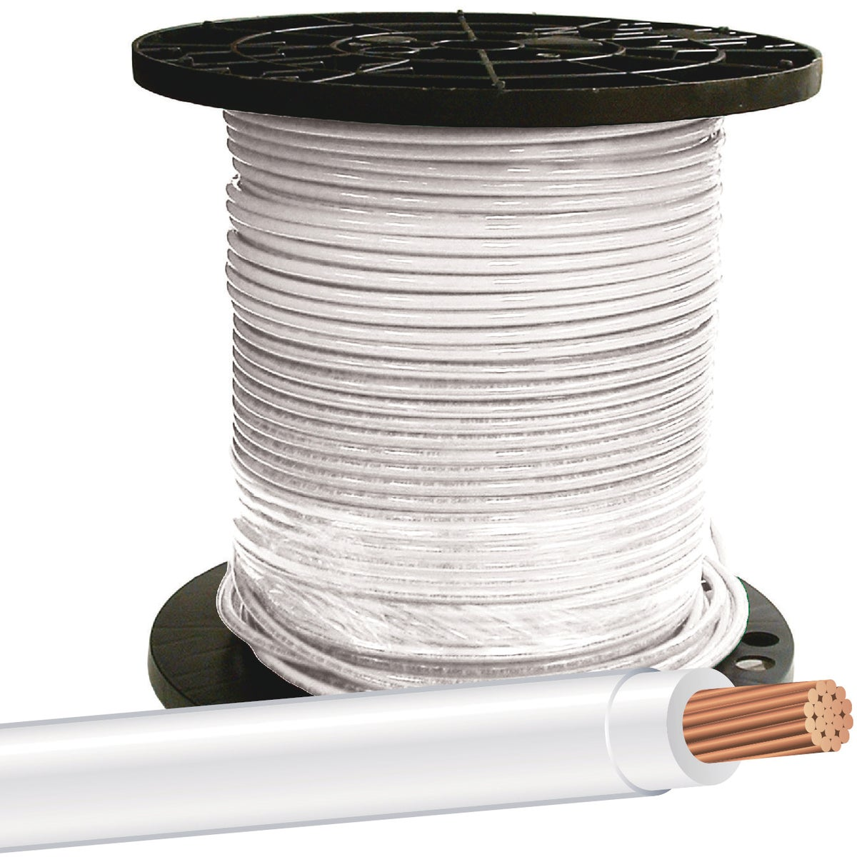 500' 8STR WHT THHN WIRE - 20489112 by Southwire Company
