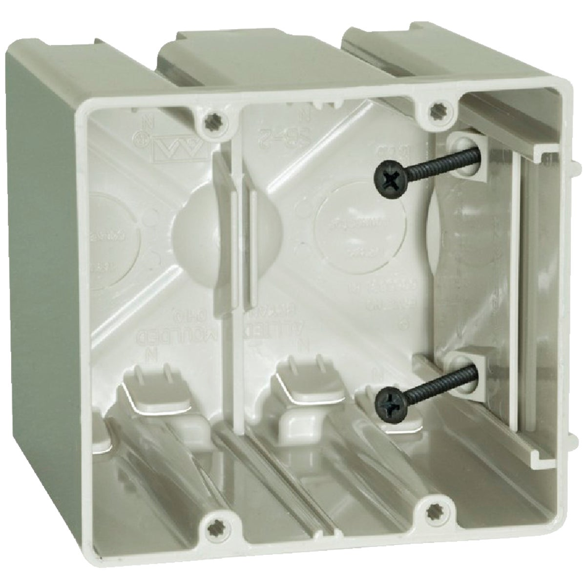 TWO GANG SLIDER BOX - SB-2 by Allied Moulded