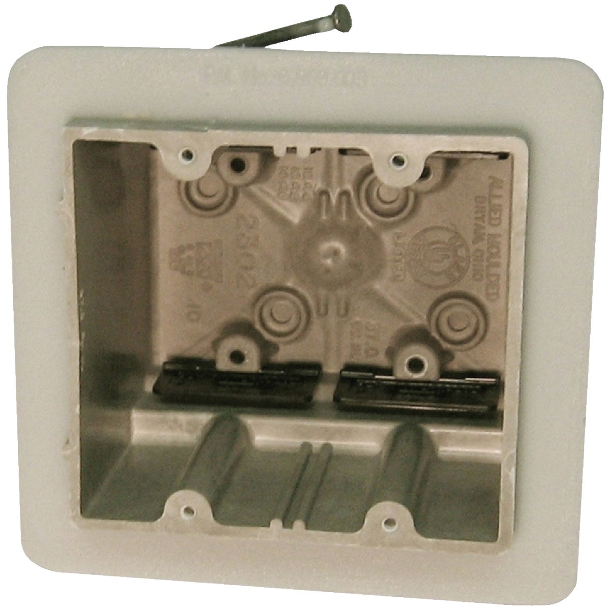 TWO GANG VAPOR SEAL BOX - H2302-NKV by Allied Moulded