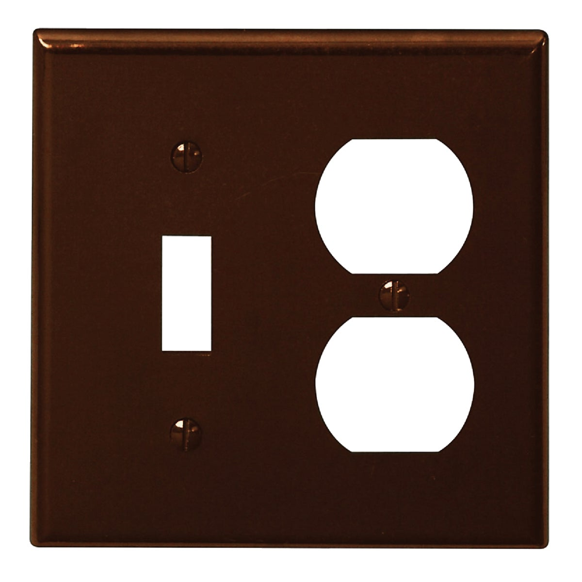 BRN COMBO WALL PLATE - 85005 by Leviton Mfg Co