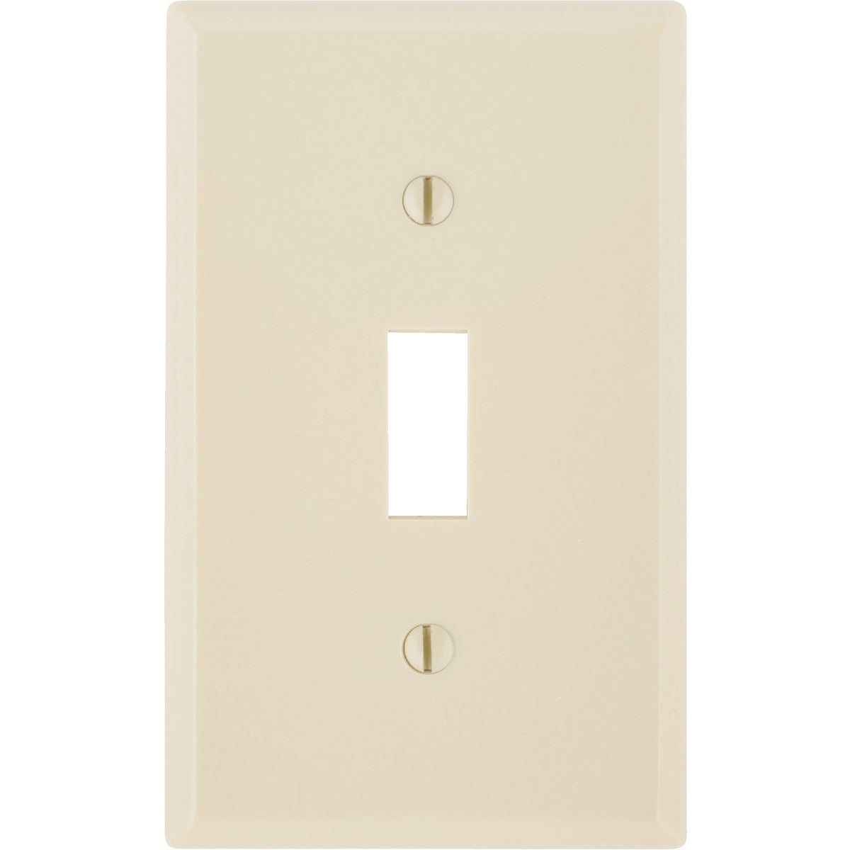 IV 1-TOGGLE WALL PLATE - 86001 by Leviton Mfg Co