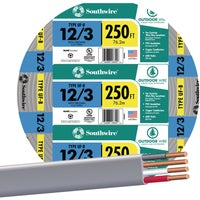 Southwire 250' 12-3 UFW/G WIRE 13058355