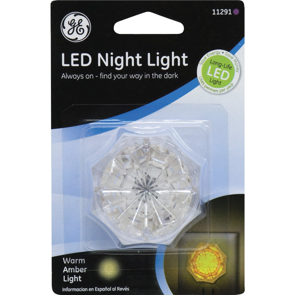 LED JEWEL NIGHT LIGHT - 11291 by Jasco Products Co