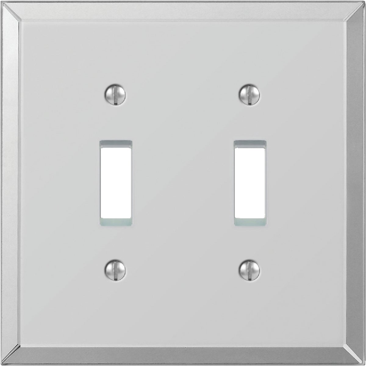 2TGL BVL MIRR WALLPLATE - 9MC102 by Jackson Deerfield Mf
