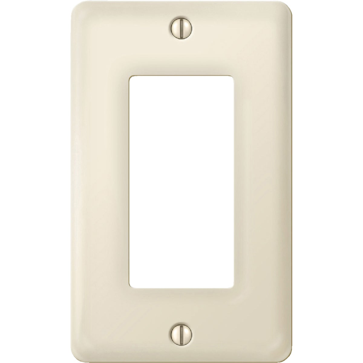 1RKR BN/PORC WALLPLATE - 987BN by Jackson Deerfield Mf