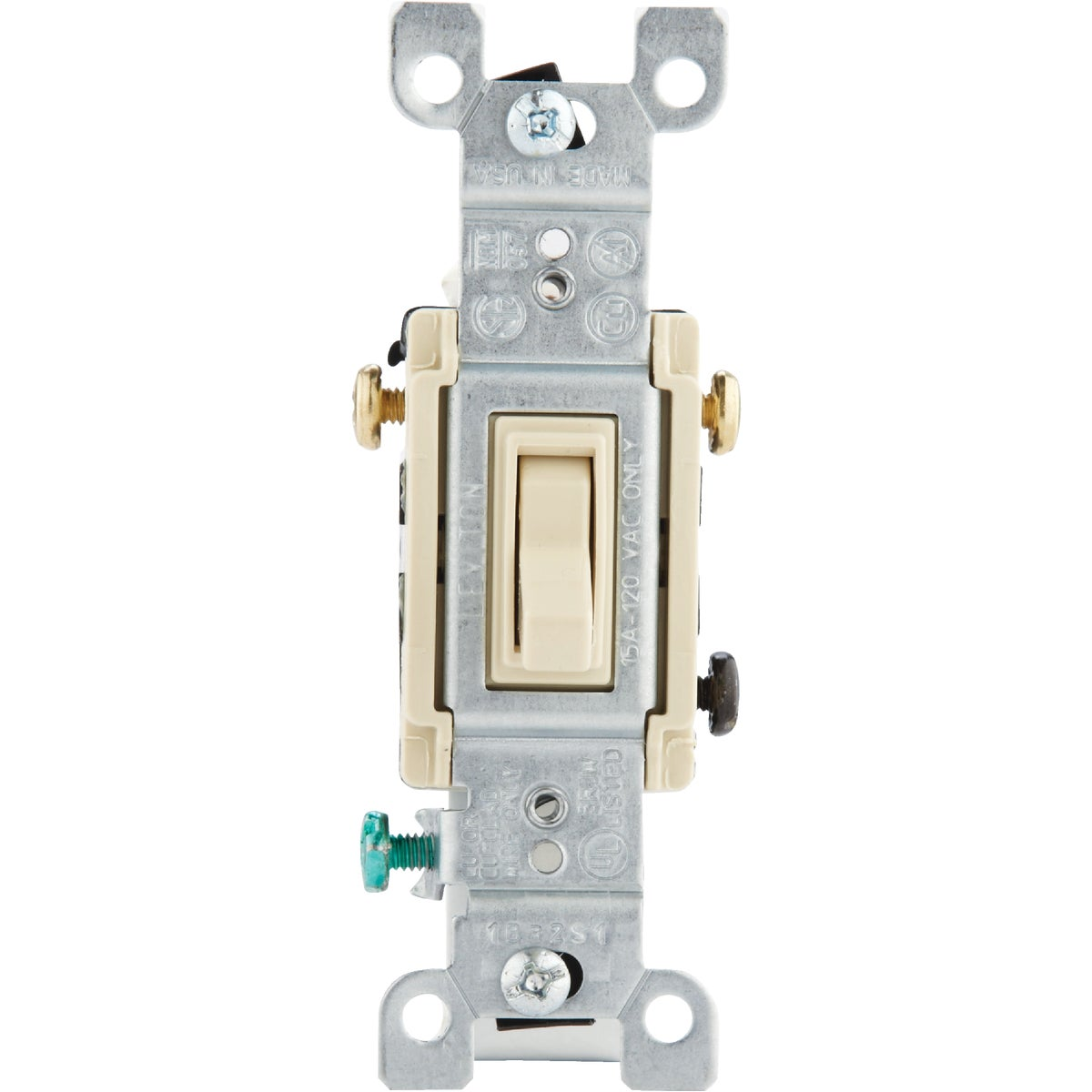 IV 3-WAY GRND SWITCH - 1453-2ICP by Leviton Mfg Co