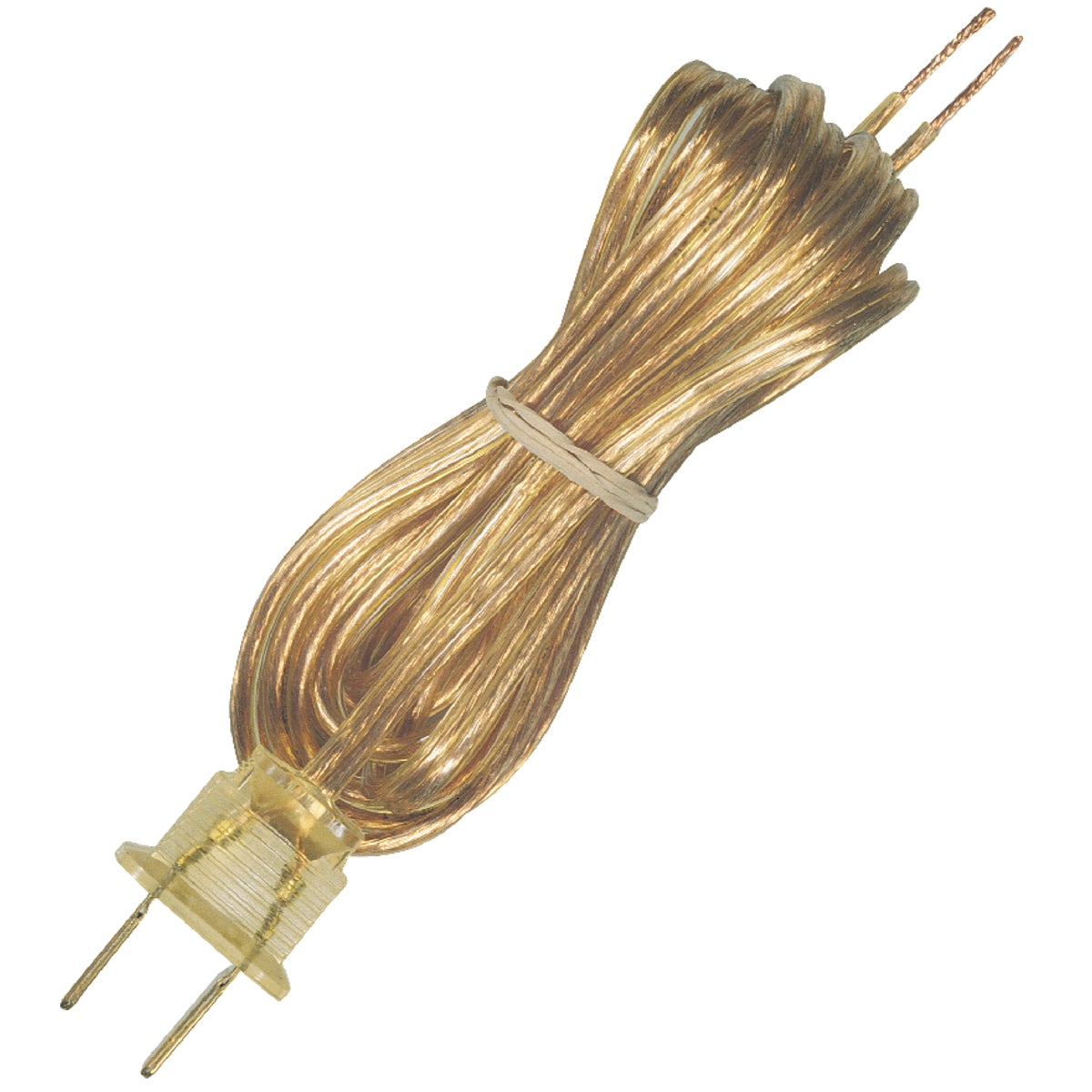 8' GOLD LAMP CORD