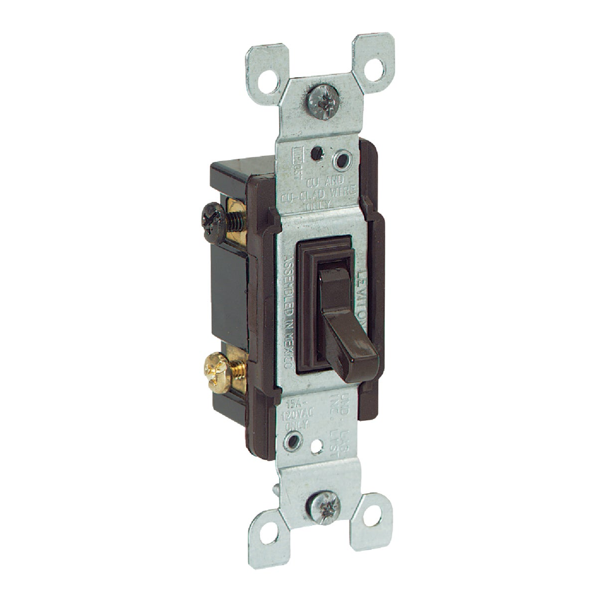 BRN 3-WAY SWITCH - 1453CP by Leviton Mfg Co