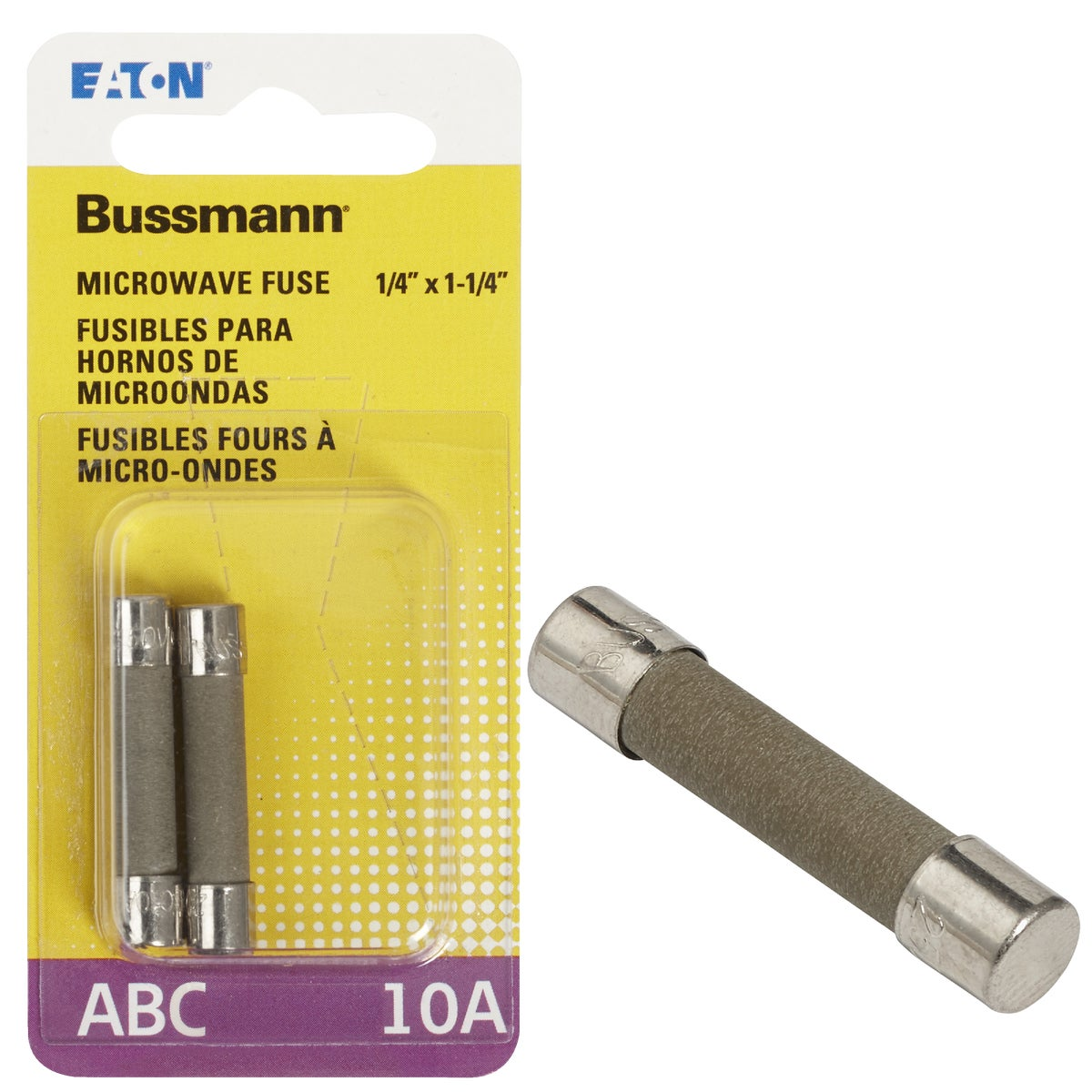 2CD 10A ELECTRONIC FUSE - BP/ABC-10 by Bussmann Cooper