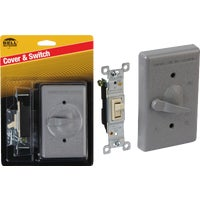 Gray Outdor Cover/Switch