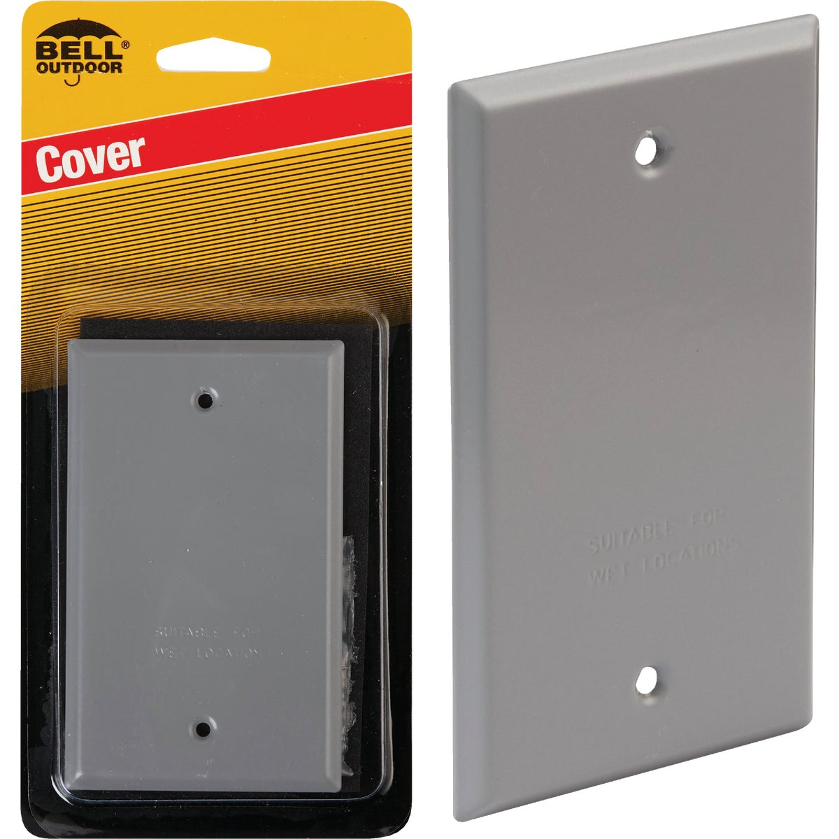 OUTDOOR BLANK COVER - 5943-1 by Hubbell