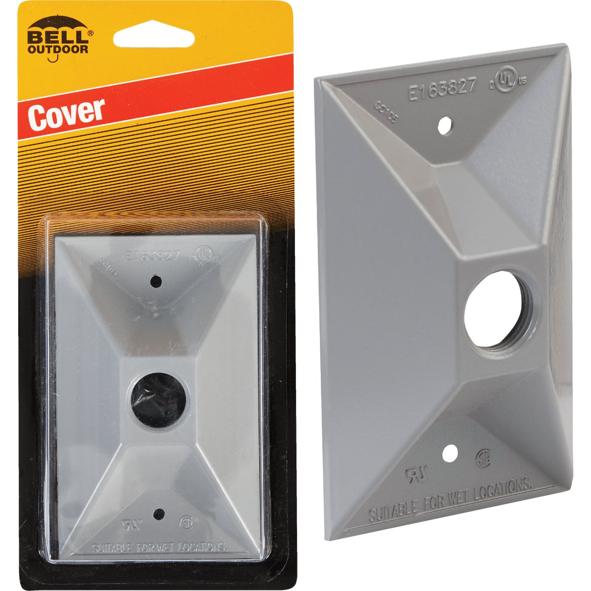 GRAY OUTDOOR COVER - 5945-1 by Hubbell