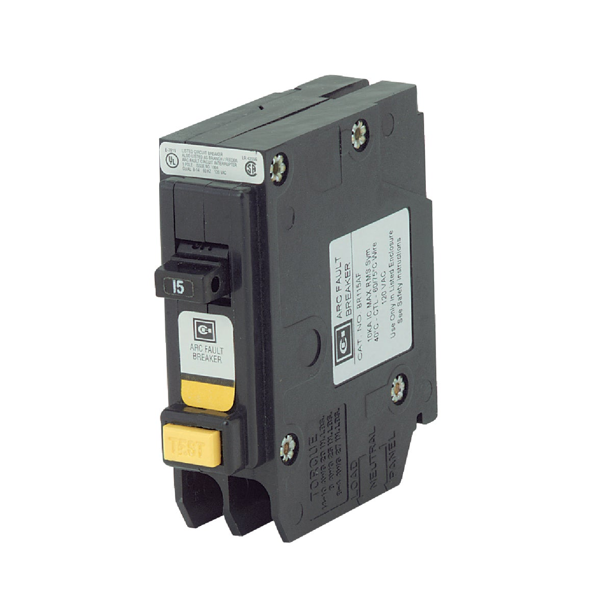 ARC FAULT CIRC BREAKER - BR115AF by Eaton Corporation