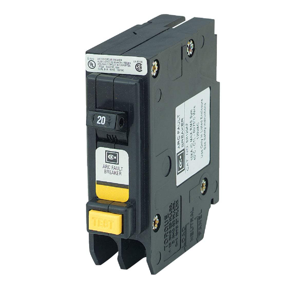 20A ARC FAULT BREAKER - BR120AF by Eaton Corporation