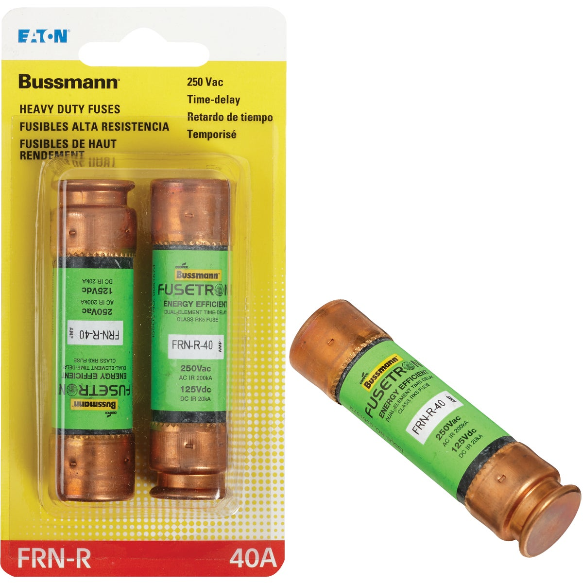 40A CARTRIDGE FUSE - BP/FRN-R-40 by Bussmann Cooper