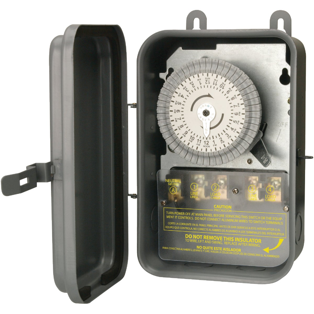 DPST TIMER BOX - 59402 by Woods Wire Coleman