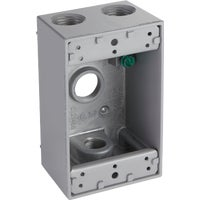 Bell Weatherproof Electrical Outdoor Outlet Box, 5321-0