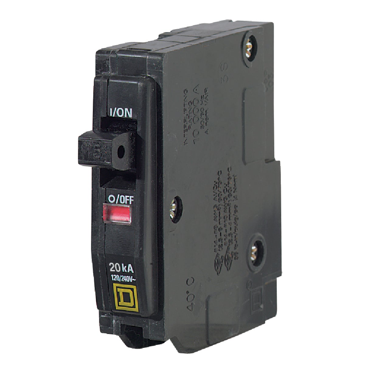 20A SP CIRCUIT BREAKER - QO120CP by Square D Co