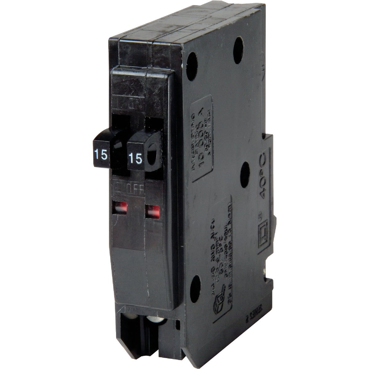 15A/15A TANDEM BREAKER - QOT1515CP by Square D Co