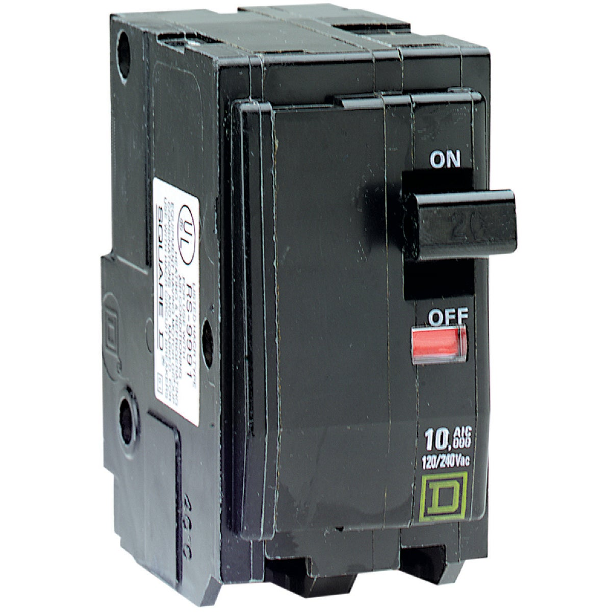 20A 2P CIRCUIT BREAKER - QO220CP by Square D Co