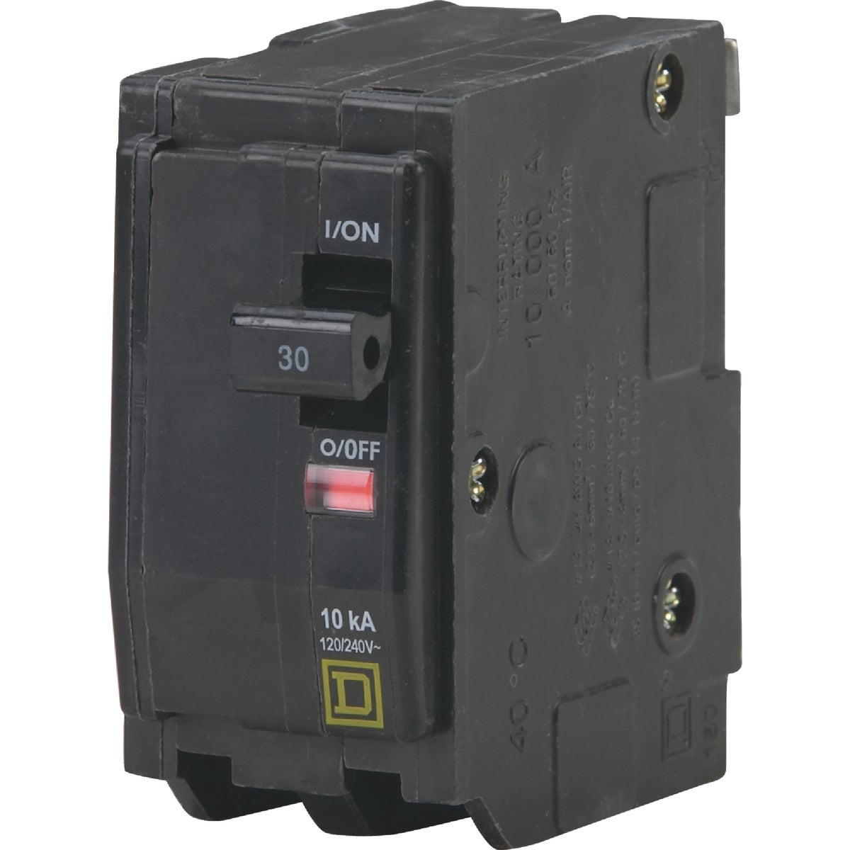 30A 2P CIRCUIT BREAKER - QO230CP by Square D Co