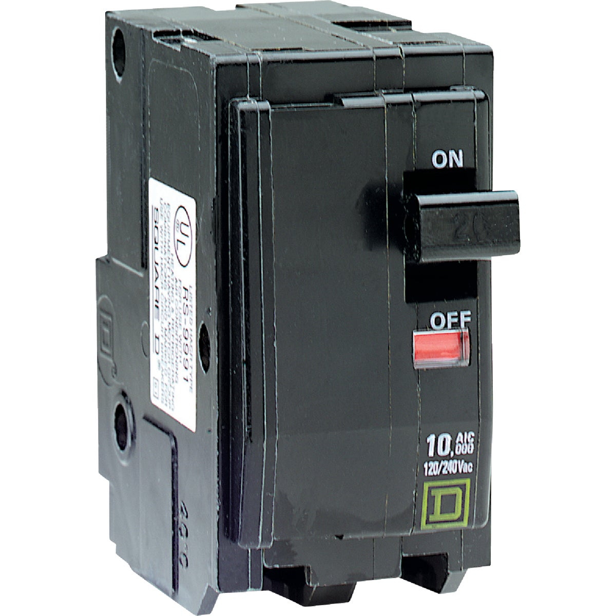 50A 2P CIRCUIT BREAKER - QO250CP by Square D Co