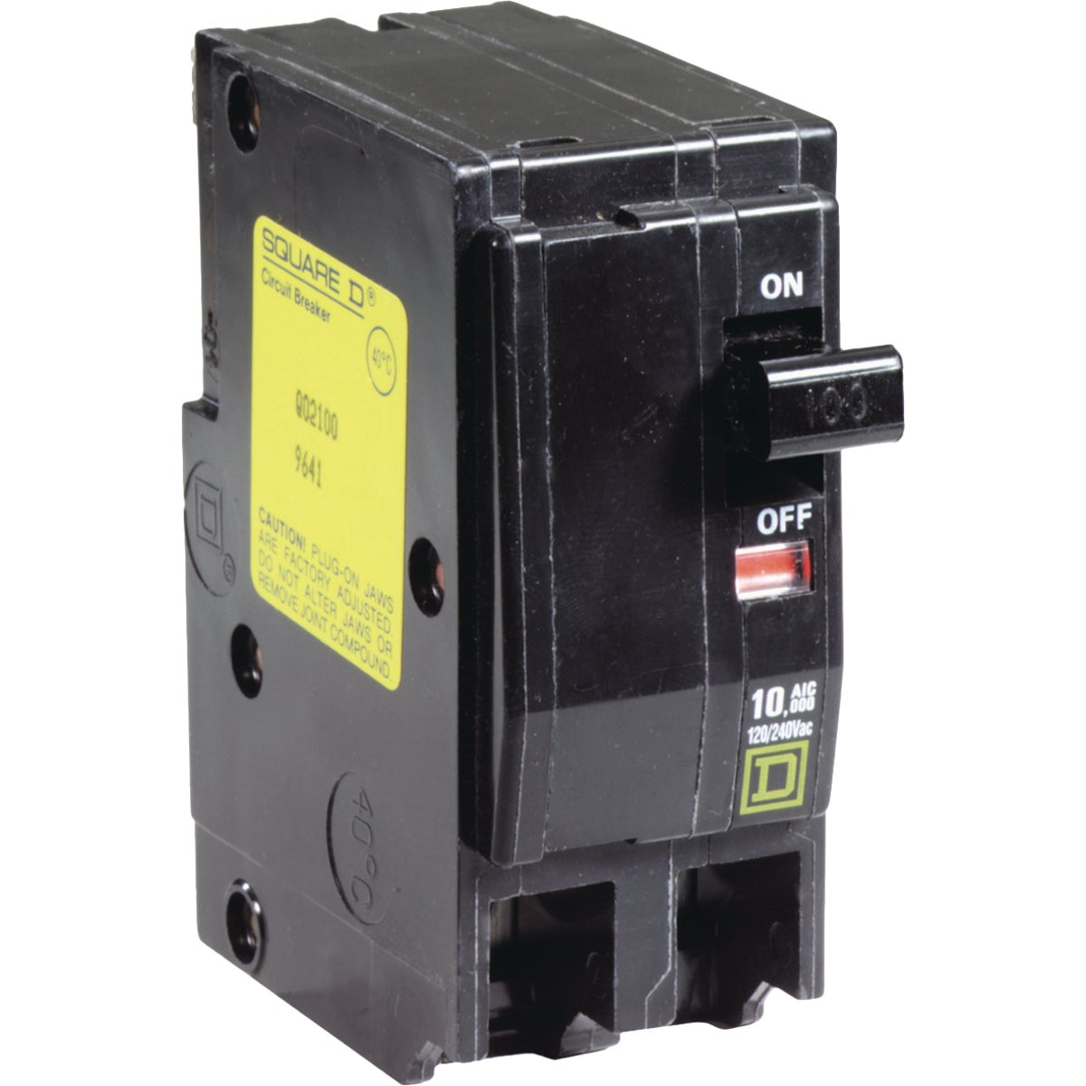 100A 2P CIRCUIT BREAKER - QO2100CP by Square D Co