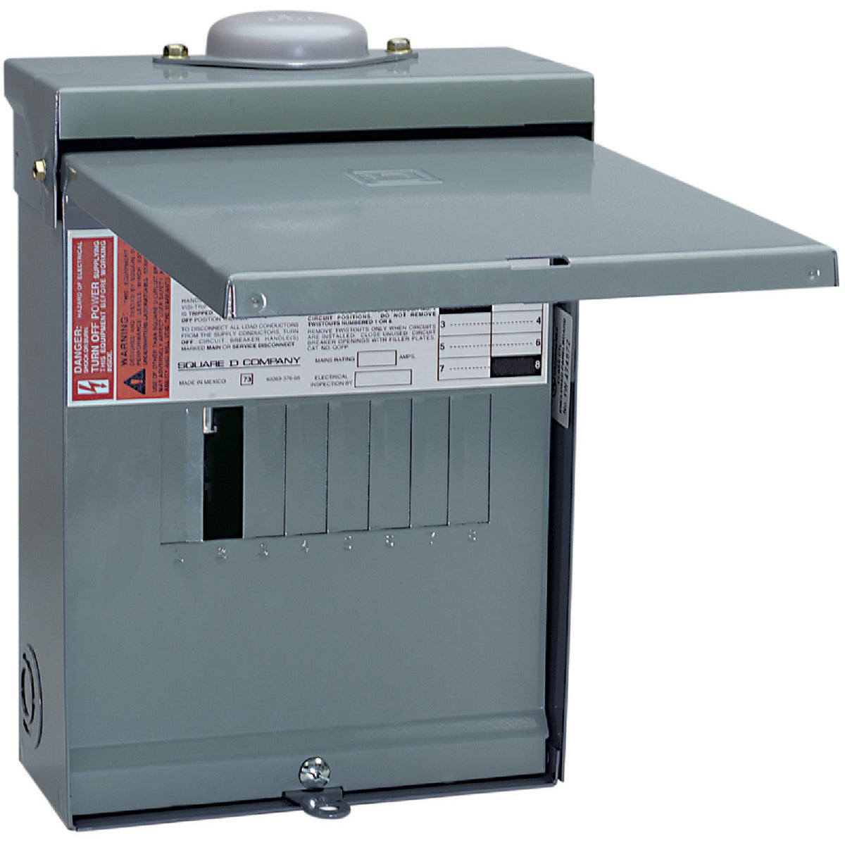 100A LOAD CENTER - QO612L100RBCP by Square D Co