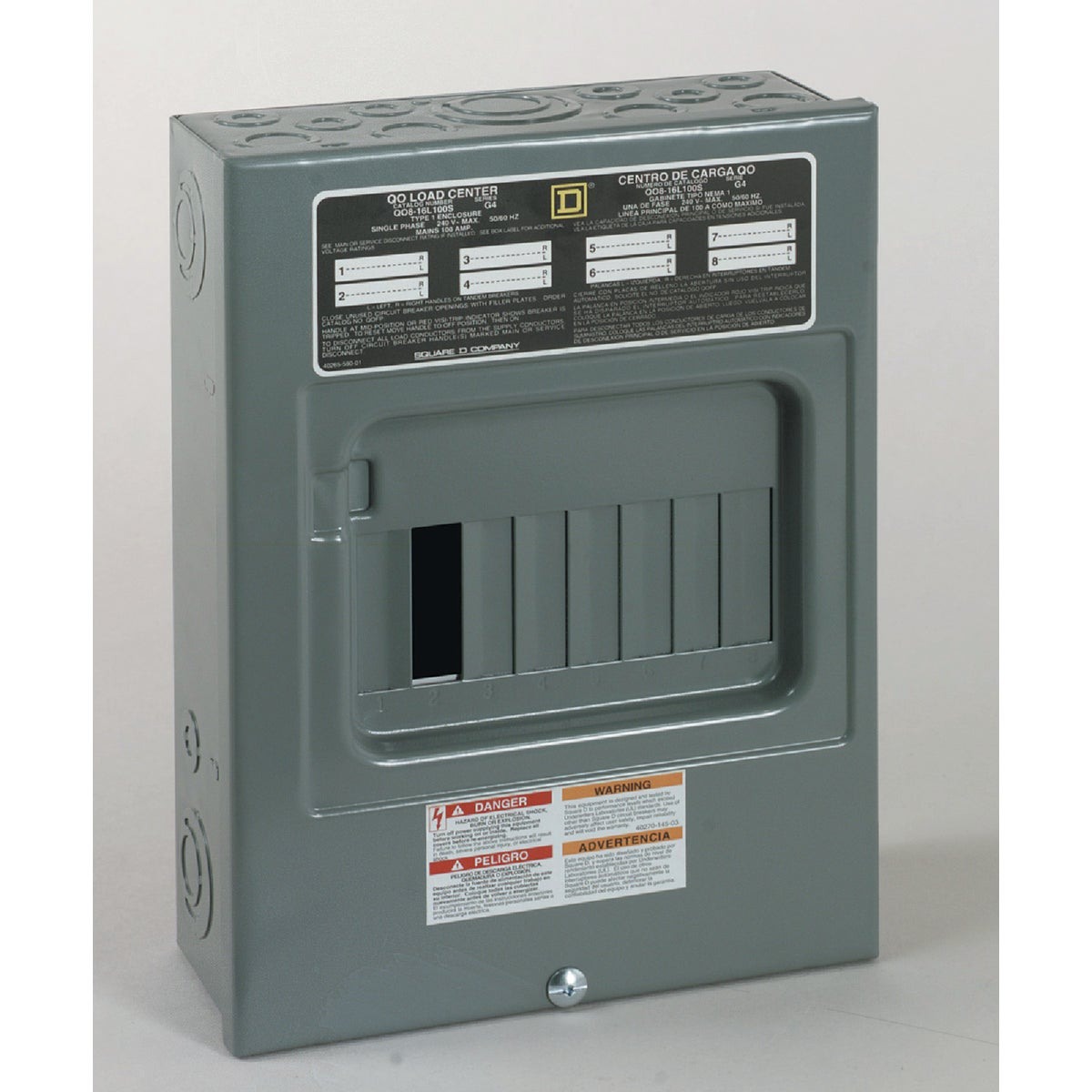 100A LOAD CENTER - QO816L100SCP by Square D Co