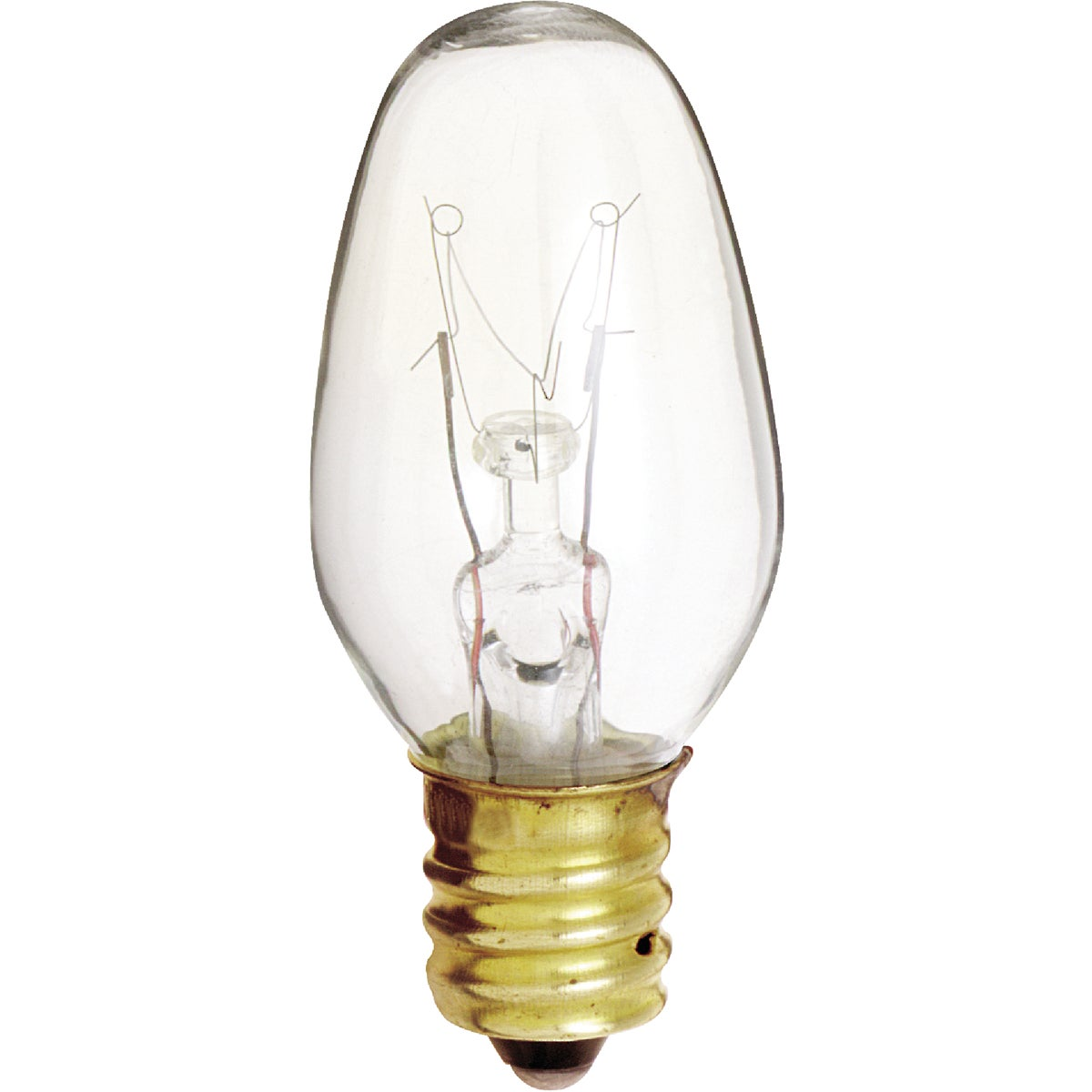 4W CLR NIGHT LIGHT BULB - 20572 by G E Lighting
